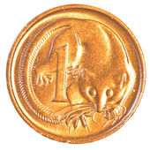 One australian cent coin — Stock Photo