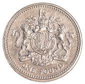 Eine britische pfund-münze — Stockfoto