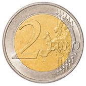 2 Euro coin — Stock Photo