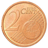 2 euro cents coin — Stock Photo