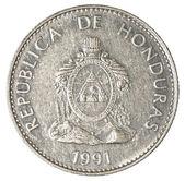 50 centavos de lempira hondurien de pièce — Photo