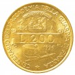 200 italian lira coin — Stock Photo #23821851