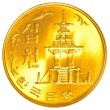 10 south korean won coin — Stock Photo