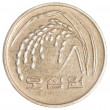 50 south korean wons coin — Stock Photo