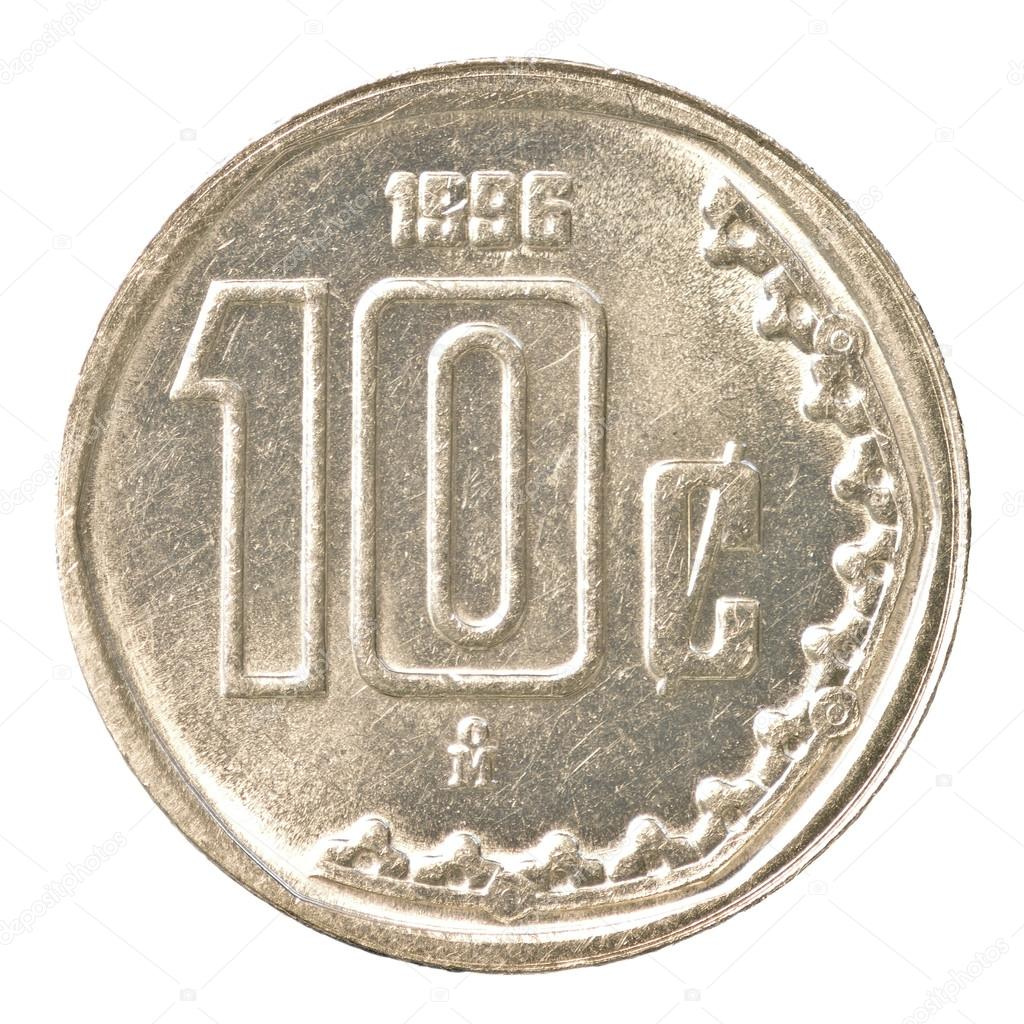 Monedas de 10 Centavos Mexico Moneda de 10 Centavos de Peso