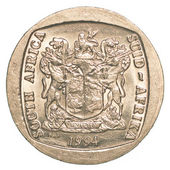 South african rand coin — Stock Photo