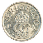 5 swedish Kronor coin — Stock Photo