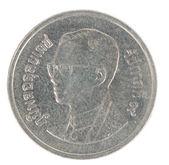One Thai baht coin — Stock Photo