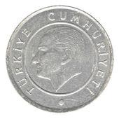 25 turkish kurus coin — Stock Photo