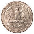 American one quarter coin  — Stock Photo #23945699