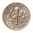 American one Dime coin — Stock Photo