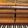 Stock Photo: Piano interiors