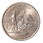 American one quarter coin — Stock Photo