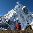 Stock Photo: Everest Base Camp Trek