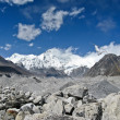 Stock Photo: Mountain view at Nepal Himalaya
