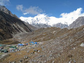 Mountain village at the Everest region — Photo