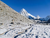 Mountain scenery at the Everest region — Stock fotografie