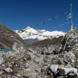View of cho oyu - nepal — Stock Photo #23960435