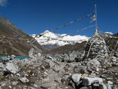 View of cho oyu - nepal — Stockfoto
