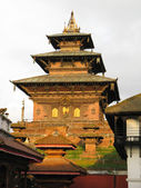 Hindu Temple in durbar square - Kathmandu — Stock Photo