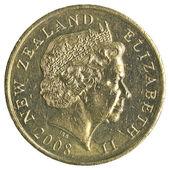 2 New Zealand dollar coin — Stock Photo