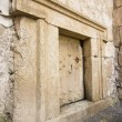 Massive stone door — Foto Stock