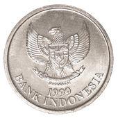 Indonesian rupiah coin — Stock Photo