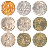 Australia circulating coins — Stock Photo