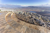 View from mount Precipice, Nazareth, Israel — Stock Photo