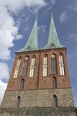St nicholas church in berlin — Foto Stock