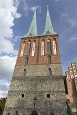 St nicholas church in berlin — Stock Photo