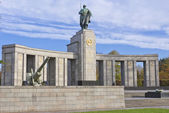 Soviet WW2 memorial, Berlin — Stock Photo