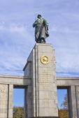 Monumento soviético ww2, berlín — Foto de Stock