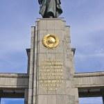 Soviet WW2 memorial, Berlin — Stock Photo