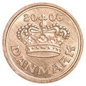 50 danish ore coin — Stock Photo