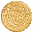 20 danish krone coin — Stock Photo