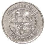 Постер, плакат: 5 icelandic krona coin