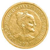 10 danish krone coin — Stock Photo