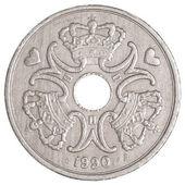 Danish krone coin — Stock Photo