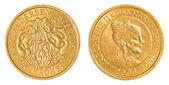 10 danish kroner coin — Stock Photo