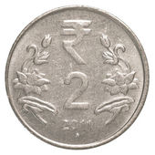 2 indian rupee coin — Stock Photo