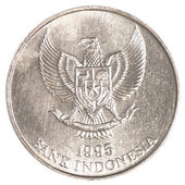 Indonesian rupiah coin — Stock Photo