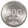 500 vietnamese dong coin — Stock Photo #40451745