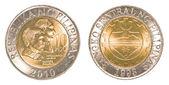 10 philippinischer peso-münze — Stockfoto