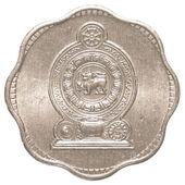 2 sri-lanka-rupie-cent-münze — Stockfoto