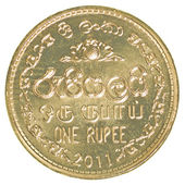 1 Sri Lankan rupee coin — Stock Photo