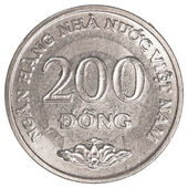 200 vietnamese dong coin — Stock Photo