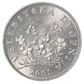 50 croatian lipa coin — Stock Photo
