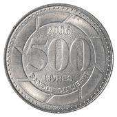 Pièce 500 livre libanaise — Photo