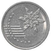 10 マレーシア セン コイン — ストック写真